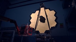James Webb Space Telescope Construction B roll