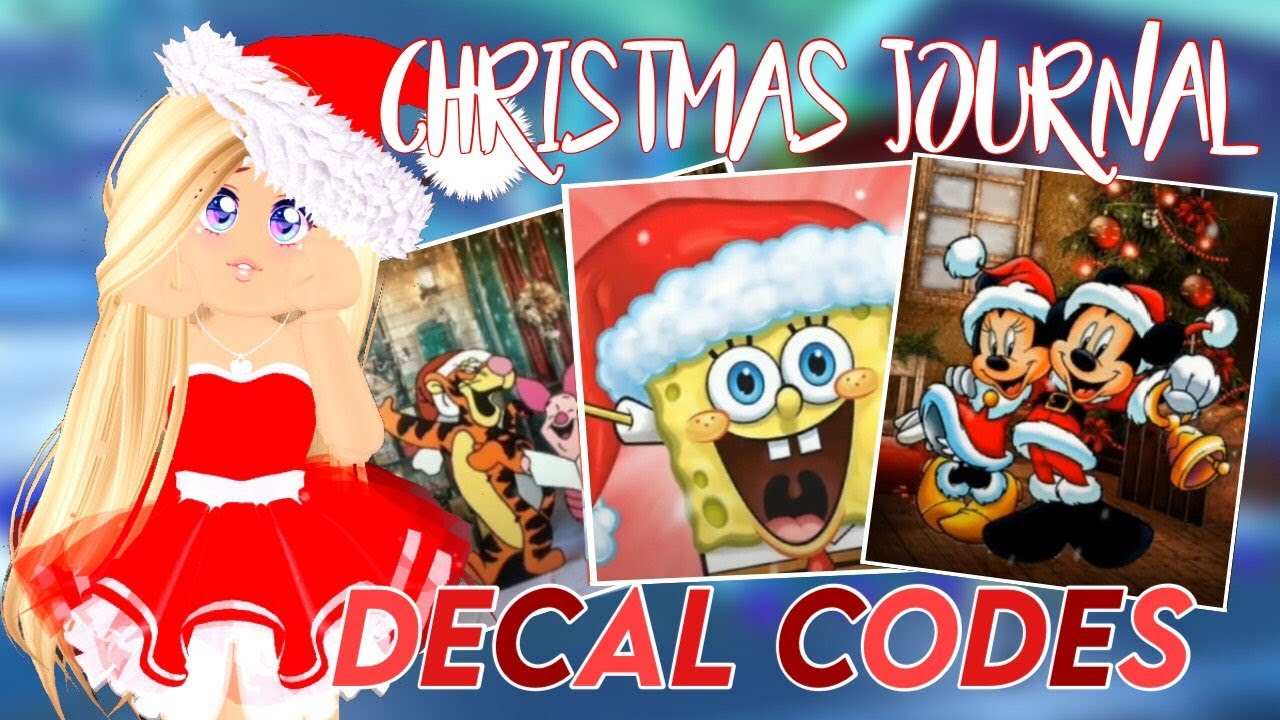 Christmas Journal Decal Codes Roblox Royale High Youtube Our roblox ragdoll royale codes wiki has the latest list of working op code. christmas journal decal codes roblox royale high