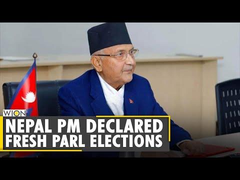 Nepal PM Oli dissolves Parliament, declared fresh elections   Nepal Political Crisis   World News