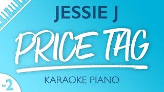 Jessie J - Price Tag (Karaoke Piano) Lower Key