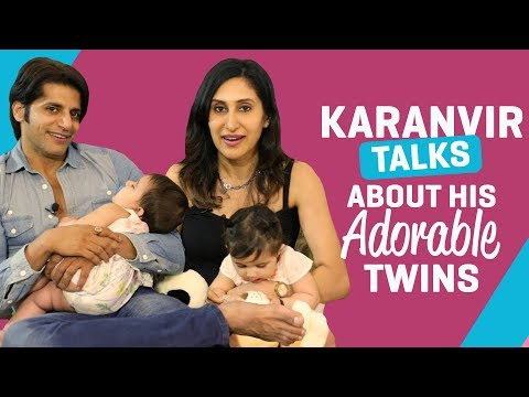 Karanvir Bohra talks about his adorable twins | TV Interview | Pinkvilla