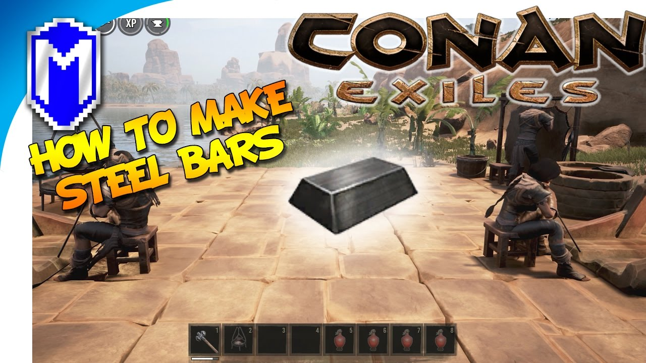 Conan exiles how to make steel bars the recipe for steel ingots conan exiles how to make steel bars the recipe for steel ingots conan exile how to and tutorial forumfinder Images