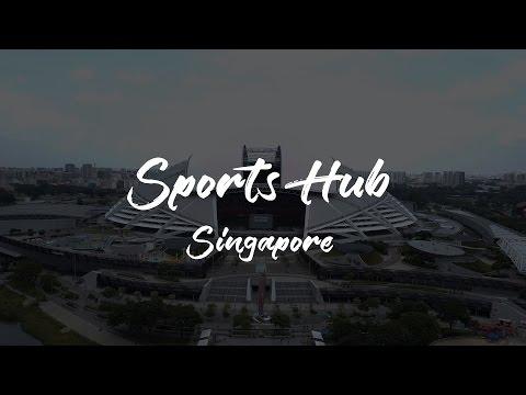 DJI Mavic Pro 4K - Singapore Sports Hub
