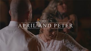 WHOLE HEART STUDIOS WEDDING FILM | APRIL AND PETER | FAIRFIELD PA