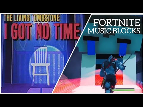 I Got No Time - The Living Tombstone | FNAF 4 Song | Fortnite Music Blocks Cover