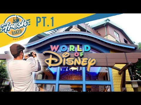 Our FIRST LOOK at NEW World of Disney store front | 10/06/18 Pt. 1