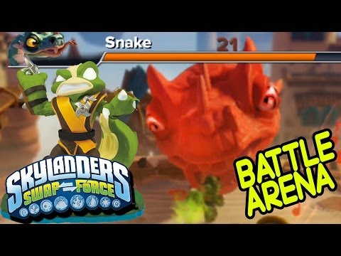 Let's Play w/ Stink Bomb: Snake in the Hole - Skylanders Swap Force Solo Survival Battle pt. 4 of 4