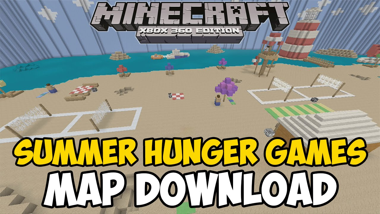Xbox 360 Hunger Games : Minecraft xbox one summer hunger games map download