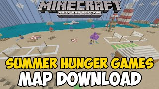Minecraft Xbox 360/One: SUMMER HUNGER GAMES map Download (NEW)