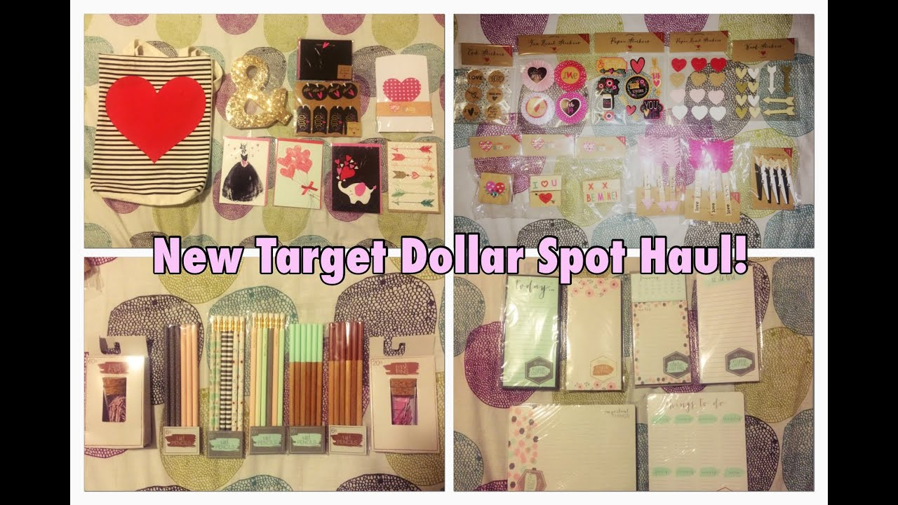 New Target Dollar Spot Haulvalentines Day Items And More