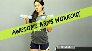 Upper Body Toning Exercises | Awesome Arms Workout