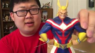 Kazuma Kiryu Figure, All Might, and More (Aitai Kuji Unboxing)