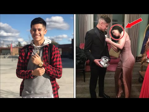10 Normal Kids Who Showed Up With A Celebrity To PROM