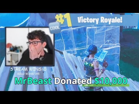 Donating $10,000 To Fortnite Streamers If They Win