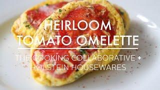 Heirloom Tomato Omelette Recipe Made in Holstein Housewares Omelette Maker