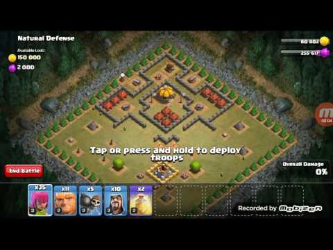 Clash of Clans (Natural Defense)