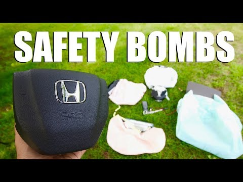 EXPLODING AIR BAGS @ 240FPS (& Attempted Watermelon Murder)