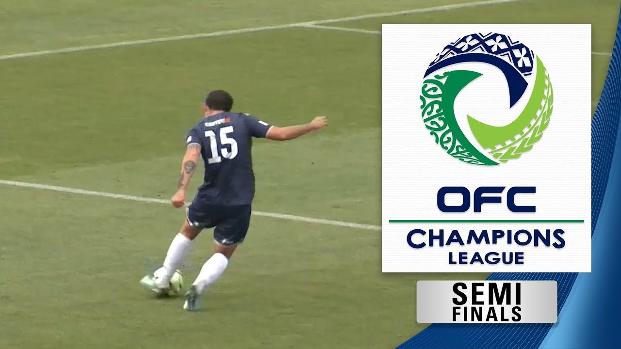 Ofc Champions League 2018 Semi Final 1st Leg Team Wellington V Auckland City Fc Promo
