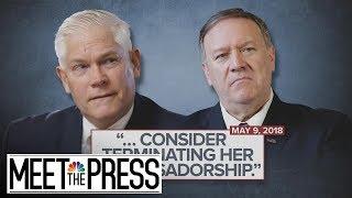 Investigation Into Giuliani Associates Complicates Ukraine Questions | Meet The Press | NBC News