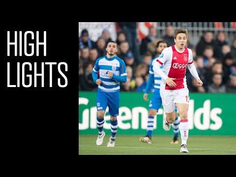 Highlights PEC Zwolle - Ajax