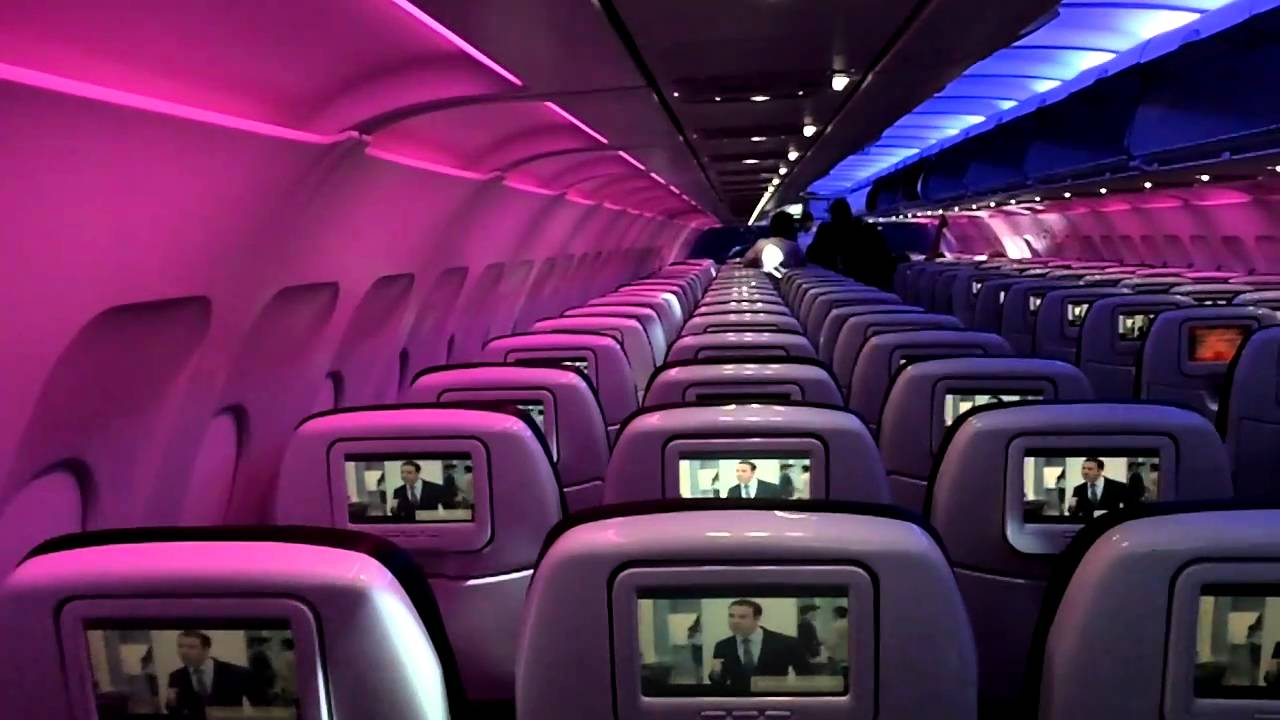 Virgin Airlines Interior Youtube