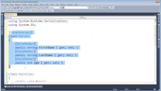C# Attributes and Serialization thumbnail
