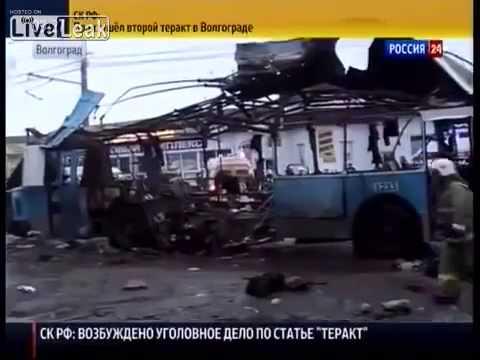 Explosion in a trolleybus in Volgograd