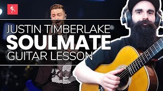Download Lagu 🎸Soulmate Guitar Lesson - How To Play Soulmate by Justin Timberlake Mp3