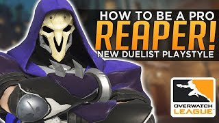 Overwatch: How to Be a Pro Reaper! - NEW Duelist Playstyle!