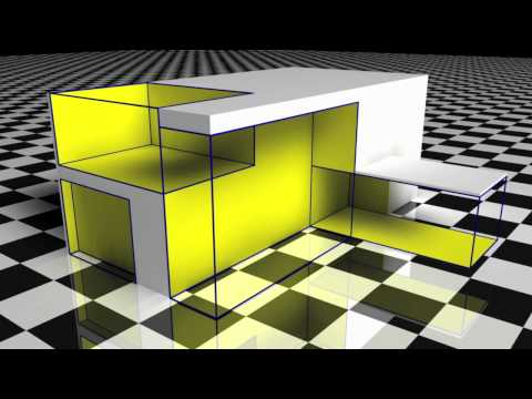 Gropius House - Subtractive Method Rendering 720p
