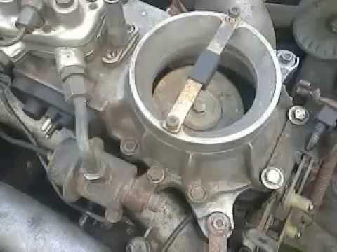 Как снять KJ-Tronic в сборе Мерседес 102 двигатель