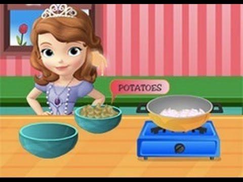 Juegos De Cocinar En Español | Aprende A Cocina Con La Princesa Sofia Vamos A Jugar Con Sofia