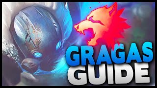 AP Gragas Jungle Guide! How to play the best AP carry in the jungle (Diamond League of Legends)