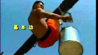 Тренировка Шаолиньских Монахов(Тренировка Шаолиньских монахов, мастера боевых искусств показывают как они достигают своих высот., 2015-01-01T19:48:53.000Z)