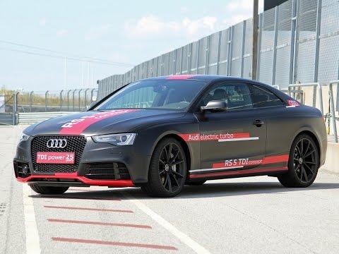 Audi A7 Sportback 3.0 TDI, Audi RS5 TDI concept, A6 concept - Technik von Morgen