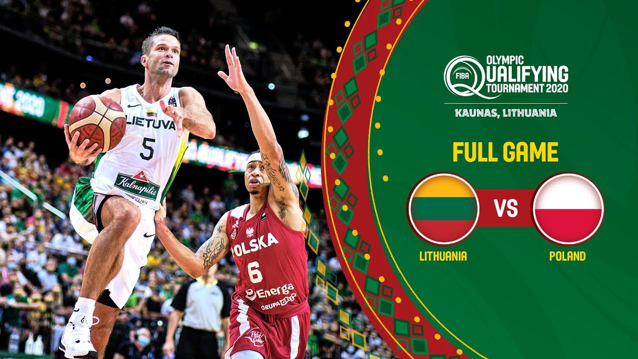 SEMI-FINALS: Lithuania v Poland | Full Game