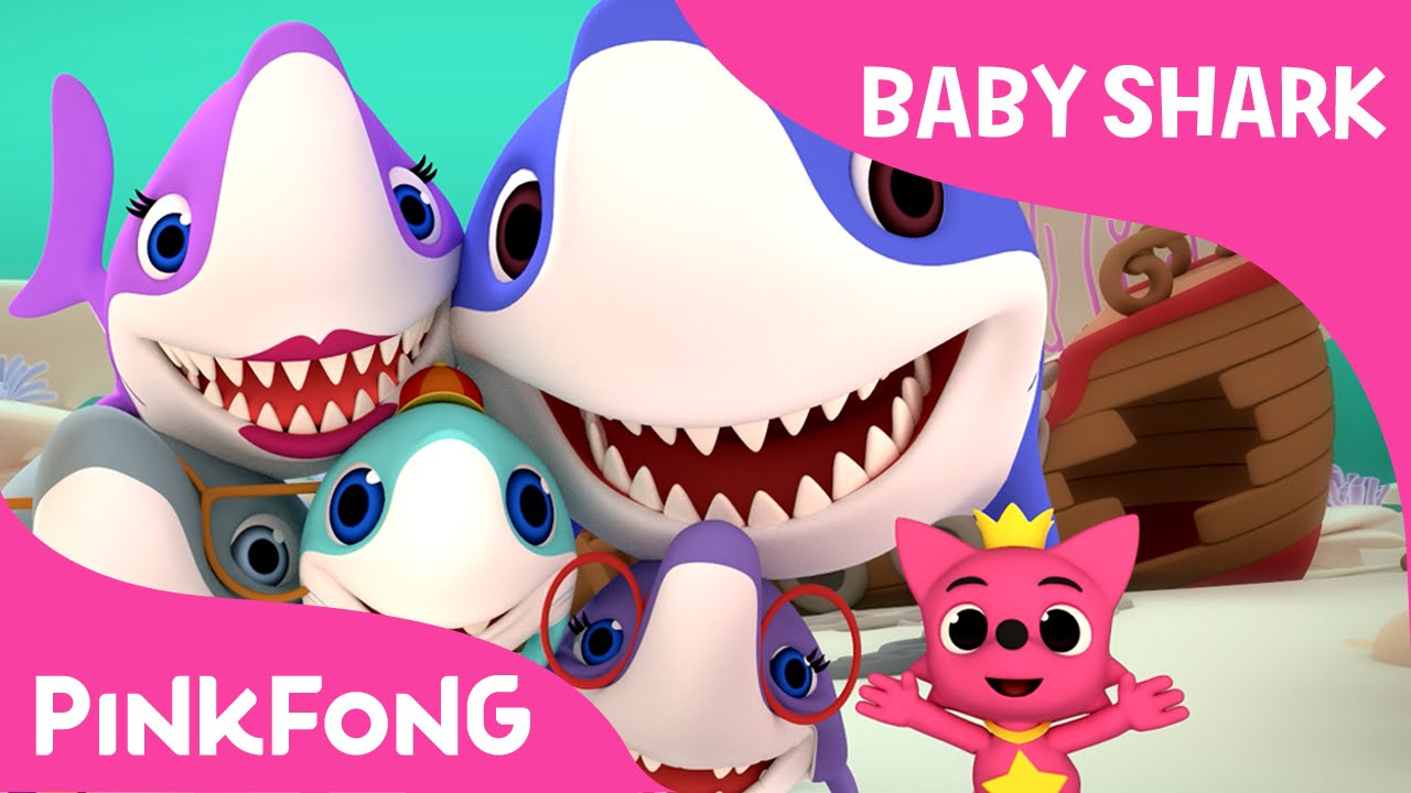 Baby Shark | Shark Family & Photographer Mr. Octopus | Animal Songs | PINKFONG Songs for Childre