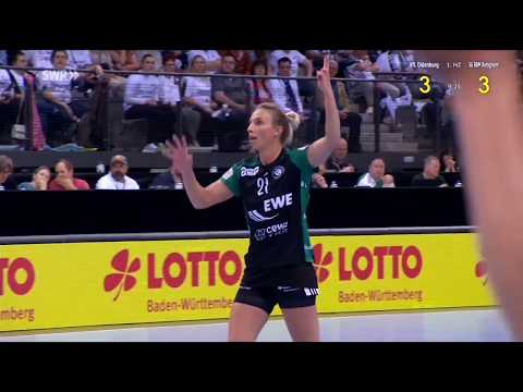 VFL Oldenburg vs SGBBM Bietigheim Final German Cup 20052018