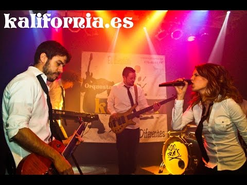 Orquestas para bodas y fiestas kalifornia. Dangerous- David Guetta