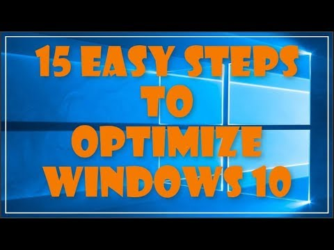 Windows 10 Optimize Performance - 15 Steps
