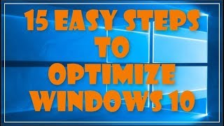 Kinerja Windows 10 Optimize - 15 Langkah