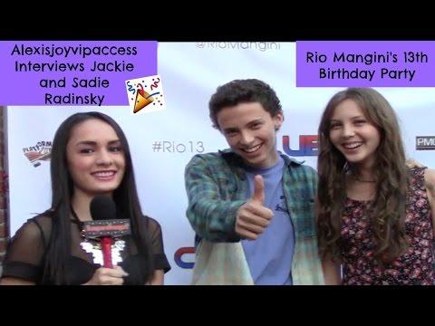 Jackie Radinsky And Sadie Radinsky   Alexisjoyvipaccess  Rio Mangini Birthday