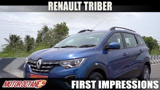Renault Triber 2019 First Impressions | Hindi | MotorOctane