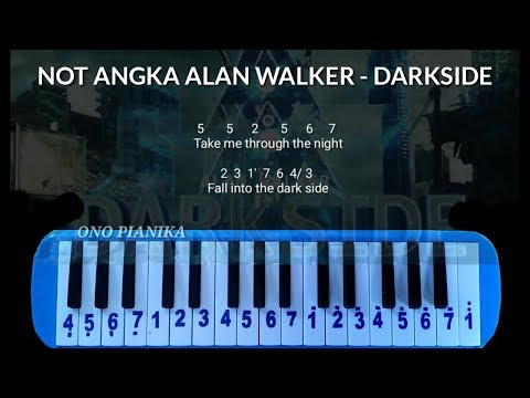 Not Pianika Alan Walker - Darkside