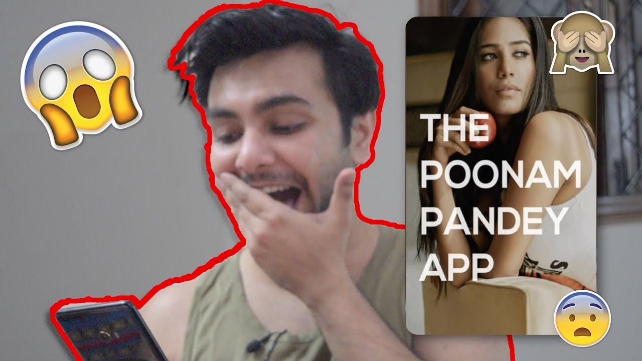App Designer REACTS to 'The Poonam Pandey App' ?? Poonam Pandey App REVIEW