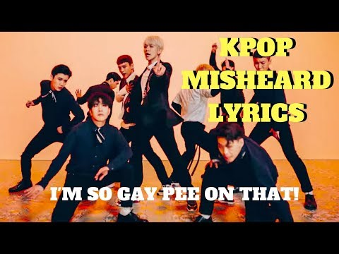 K-POP Misheard Lyrics 2018 -Try Not To Laugh