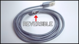 Reversible Micro USB Cable!