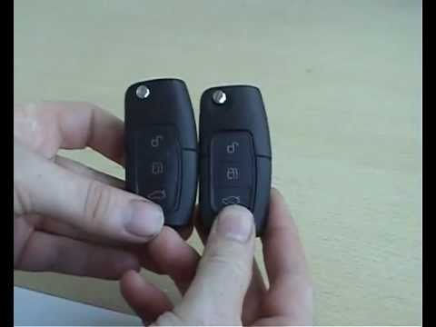 Focus  Button Remote And D Transponder Smart Flip Key Avi