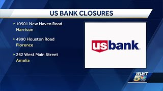 US Bank closing 7 branches in Greater Cincinnati later this year