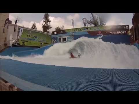 Felipe Prieto at WaveHouse Santiago, Mall Sport Chile